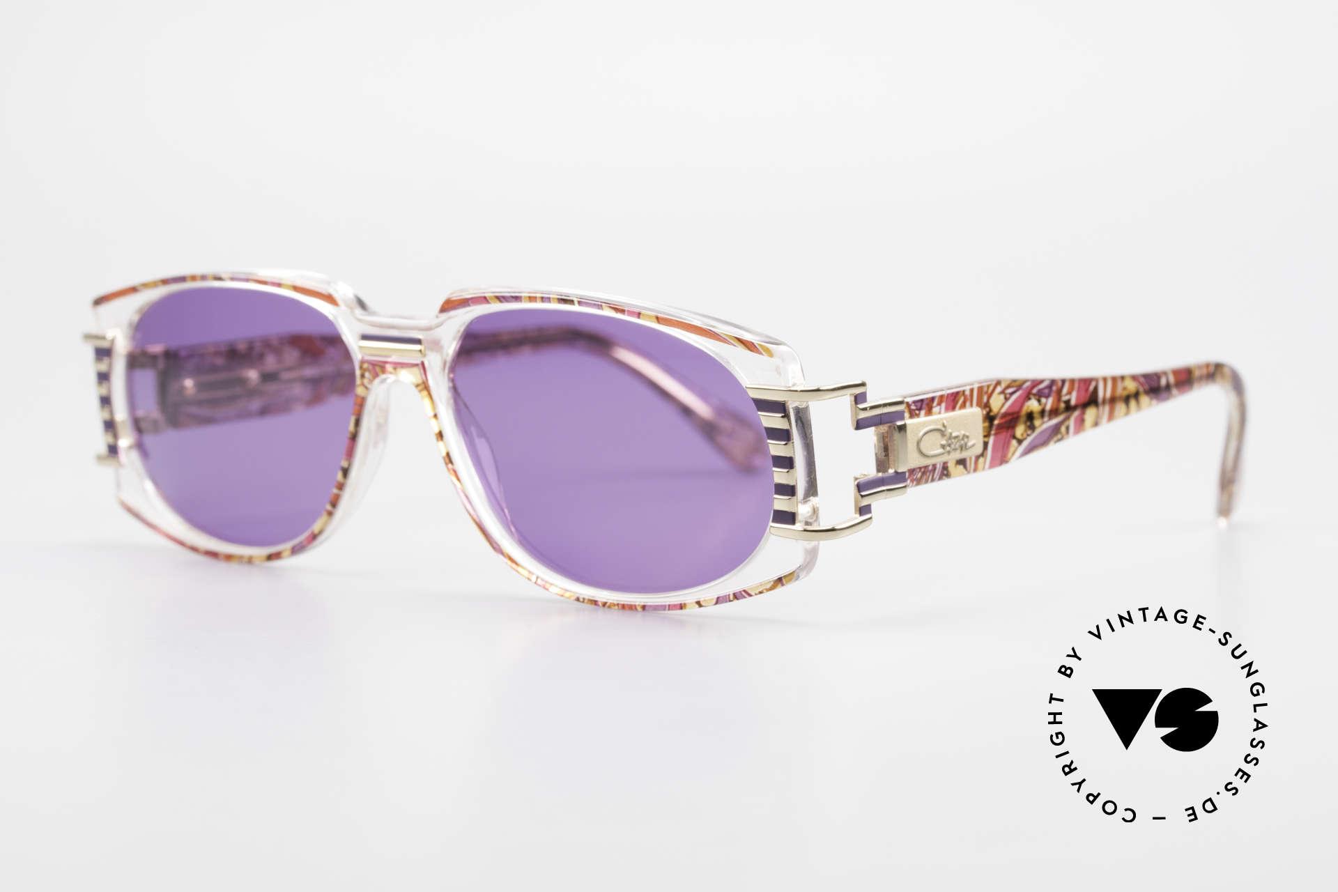 Cazal 372 Rare 90er HipHop Sonnenbrille, interessant, ausdrucksstark und ein 'Hingucker' zugleich, Passend für Herren und Damen