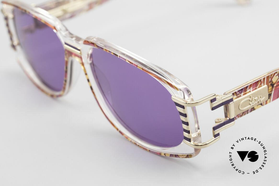 Cazal 372 Rare 90er HipHop Sonnenbrille, wahre Designer-Brille vom großen CAri ZALloni (CAZAL), Passend für Herren und Damen