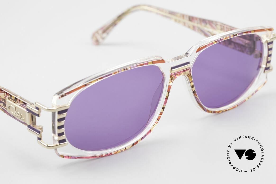 Cazal 372 Rare 90er HipHop Sonnenbrille, ungetragen (wie alle unsere alten Cazal vintage Brillen), Passend für Herren und Damen