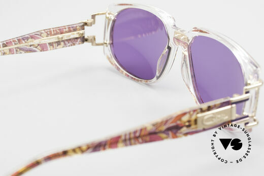 Cazal 372 Rare 90er HipHop Sonnenbrille, KEINE RETRO Brille, sondern ein 20 Jahre altes Original, Passend für Herren und Damen