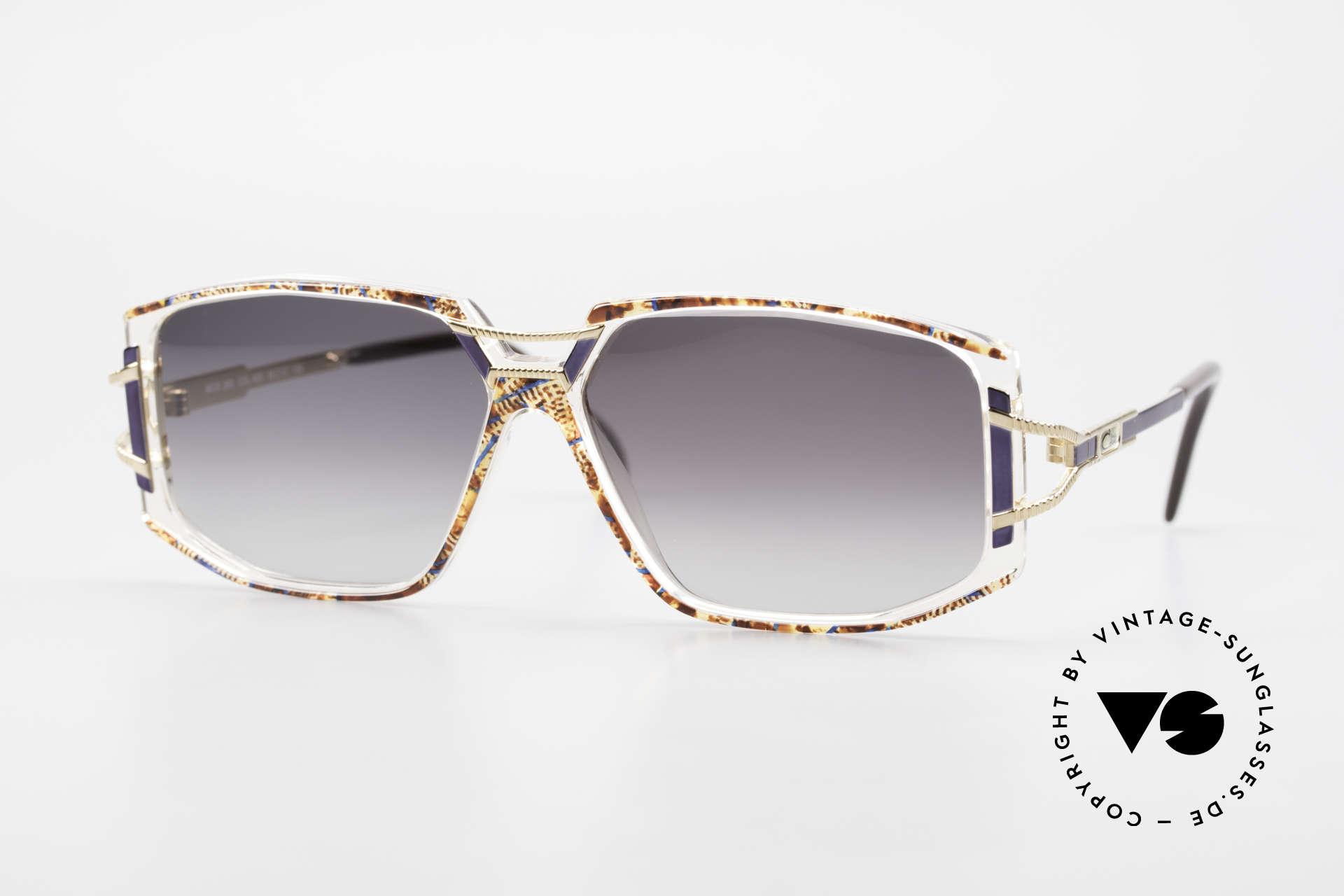 Cazal 362 Original 90er Sonnenbrille, schmuckvolles Cazal Design der frühen 90er Jahre, Passend für Damen