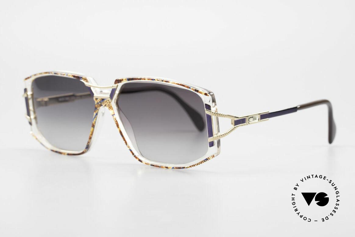 Cazal 362 Original 90er Sonnenbrille, zauberhafte Kombination aus Materialien & Farben, Passend für Damen