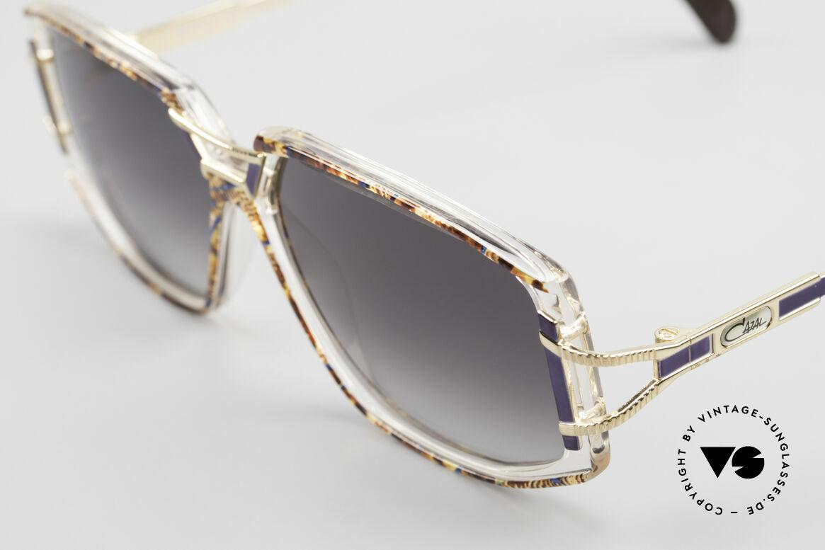 Cazal 362 Original 90er Sonnenbrille, genaue Farbbezeichnung: bernstein-blau / kristall, Passend für Damen
