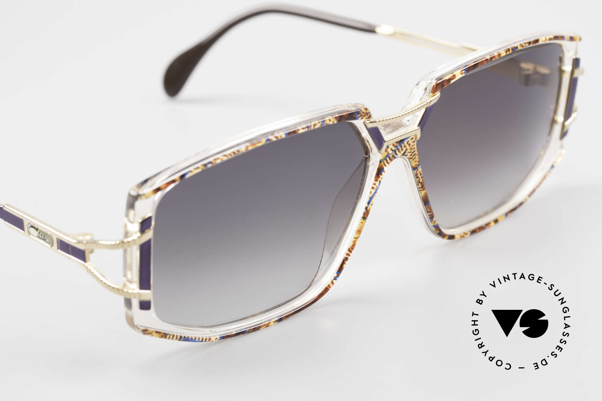 Cazal 362 Original 90er Sonnenbrille, ungetragen (wie alle unsere vintage Cazal Brillen), Passend für Damen