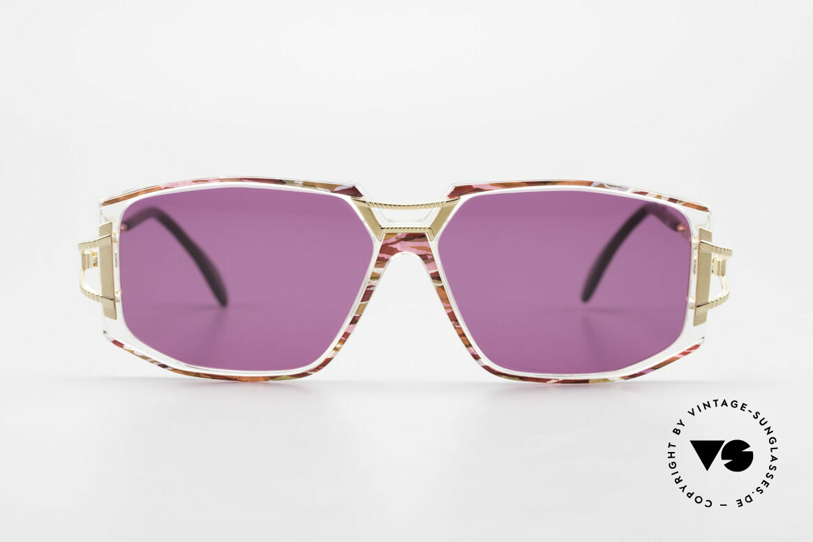Cazal 362 90er Sonnenbrille Damen Cazal, schmuckvolles Cazal Design der frühen 90er Jahre, Passend für Damen