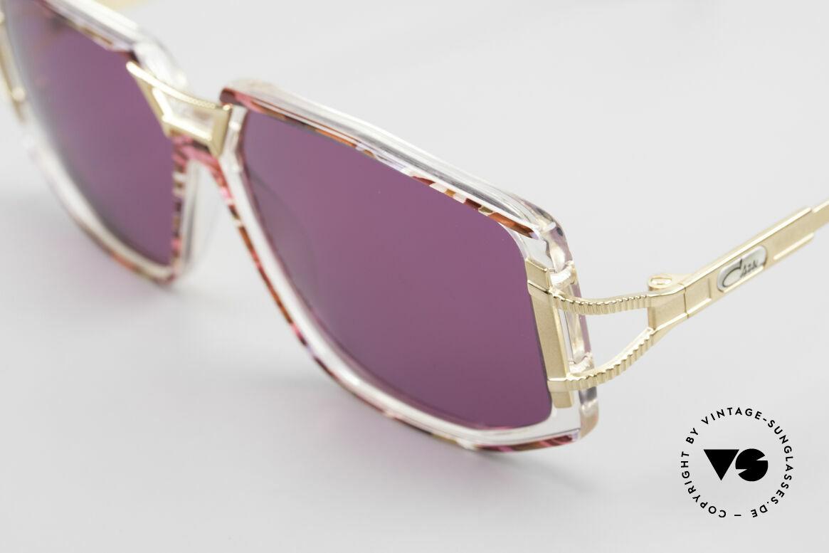 Cazal 362 90er Sonnenbrille Damen Cazal, genaue Farbbezeichnung: fuchsia-pink / kristall, Passend für Damen