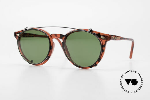 Carrera 5256 Clip Vintage Panto Brille Clip On Details