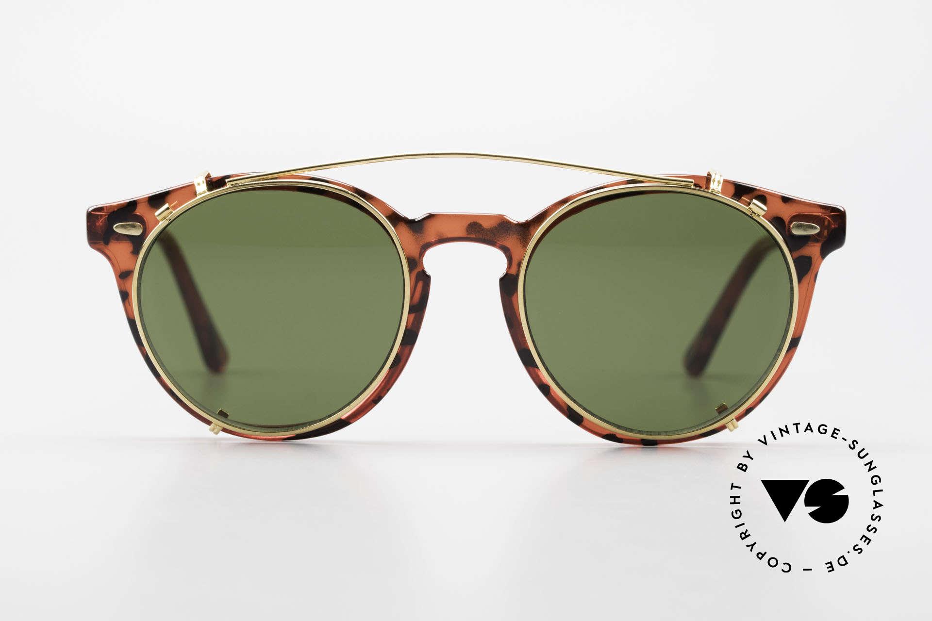 Carrera 5256 Clip Panto Brille Johnny Depp Stil, mehr 'klassisch' in Farbe & Form geht eigentlich nicht, Passend für Herren und Damen