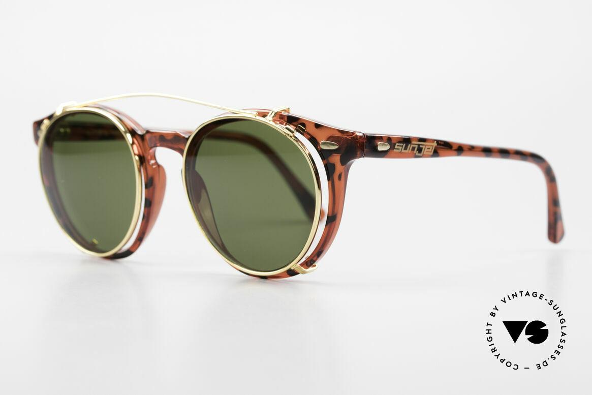 Carrera 5256 Clip Panto Brille Johnny Depp Stil, im Stile der alten 'Tart Optical Arnel' aus den 1960ern, Passend für Herren und Damen