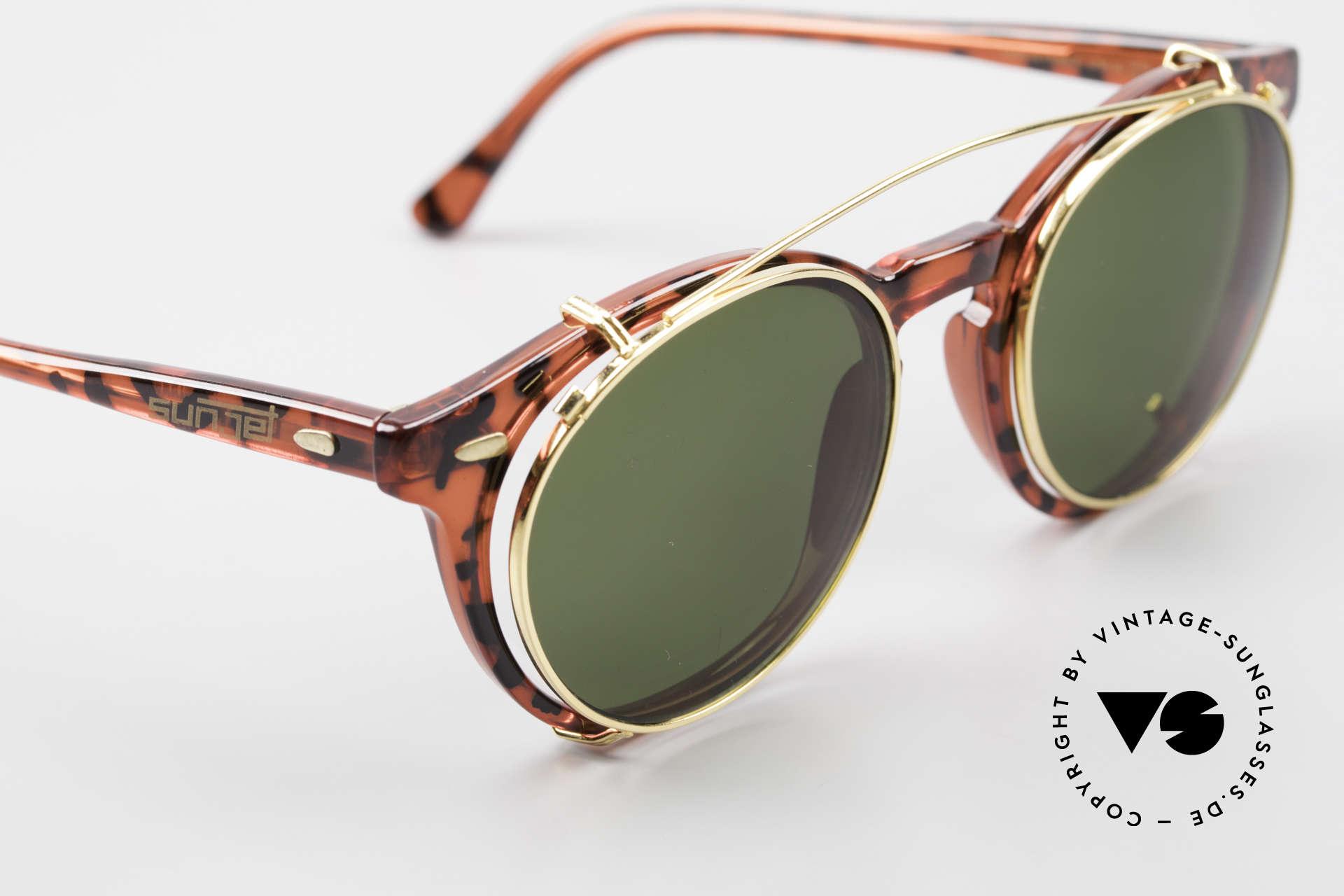 Carrera 5256 Clip Panto Brille Johnny Depp Stil, relativ schmaler Rahmen; daher eher ein Unisex-Modell, Passend für Herren und Damen