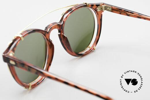 Carrera 5256 Clip Panto Brille Johnny Depp Stil, ungetragen (wie all unsere 90er Jahre Design-Klassiker), Passend für Herren und Damen