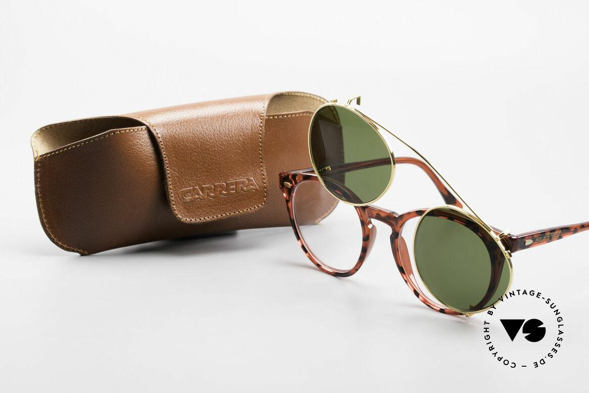 Carrera 5256 Clip Panto Brille Johnny Depp Stil, KEIN RETRO; ein altes ORIGINAL mit 100% UV Protect., Passend für Herren und Damen