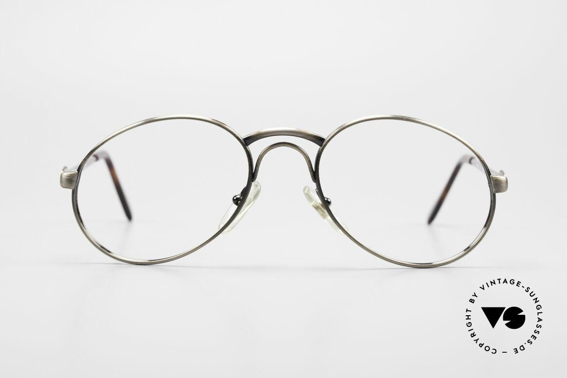 Bugatti 03323 80er Herrenbrille mit Clip On, Größe: medium, Passend für Herren