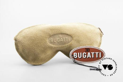 Bugatti 03328 Herrensonnenbrille Clip On, Größe: medium, Passend für Herren