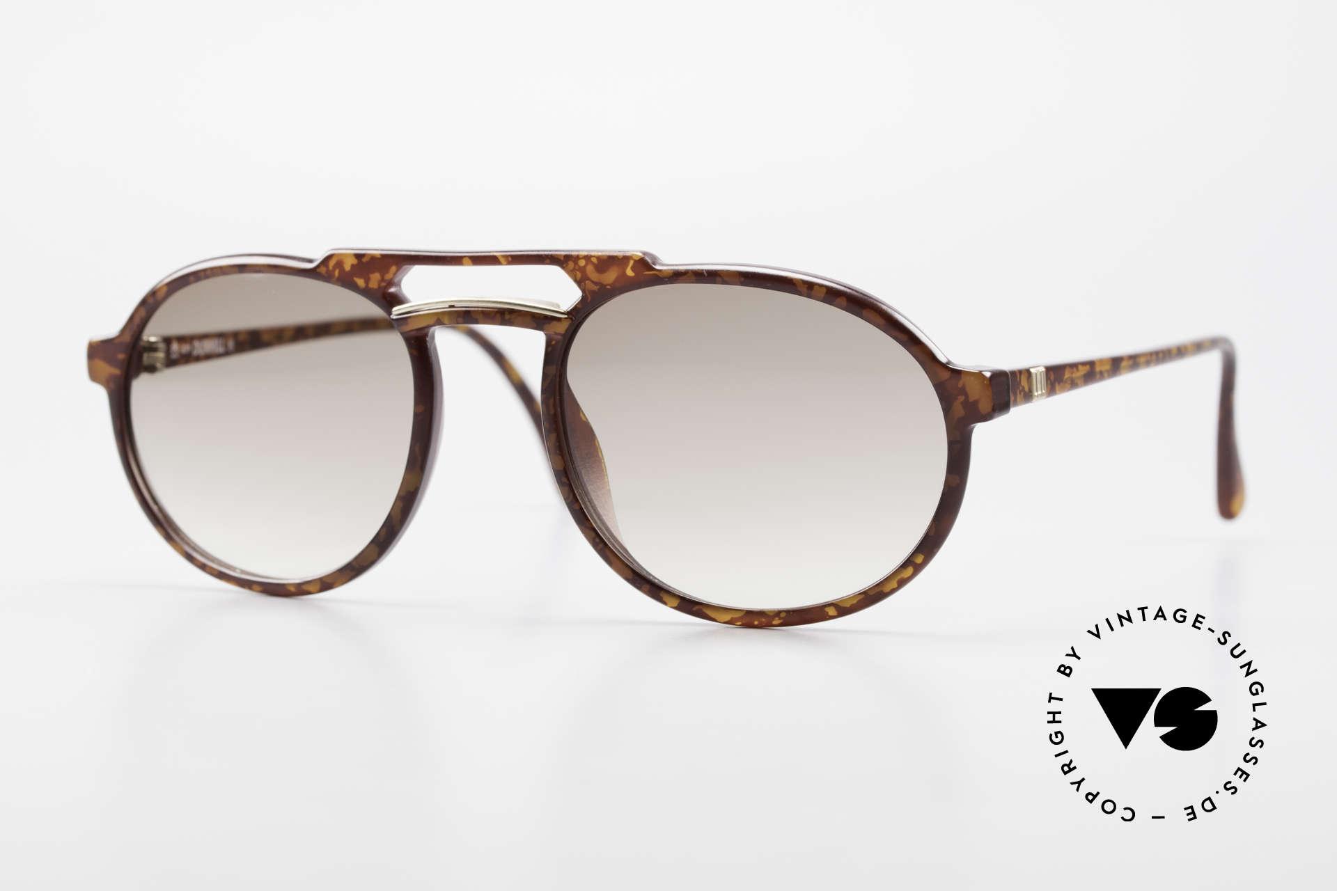 Dunhill 6114 Ovale Vintage Sonnenbrille, rund ovale vintage Sonnenbrille v. Alfred Dunhill, Passend für Herren