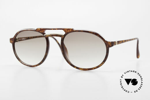 Dunhill 6114 Ovale Vintage Sonnenbrille Details
