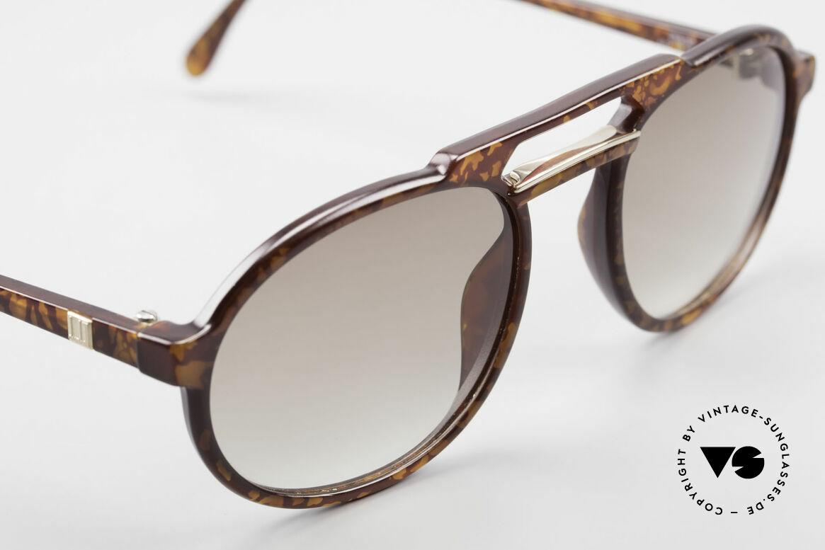 Dunhill 6114 Ovale Vintage Sonnenbrille, ungetragen (wie alle unsere vintage Dunhill Brillen), Passend für Herren