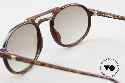 Dunhill 6114 Ovale Vintage Sonnenbrille, KEIN Retrodesign; authentische alte Ware von 1990, Passend für Herren