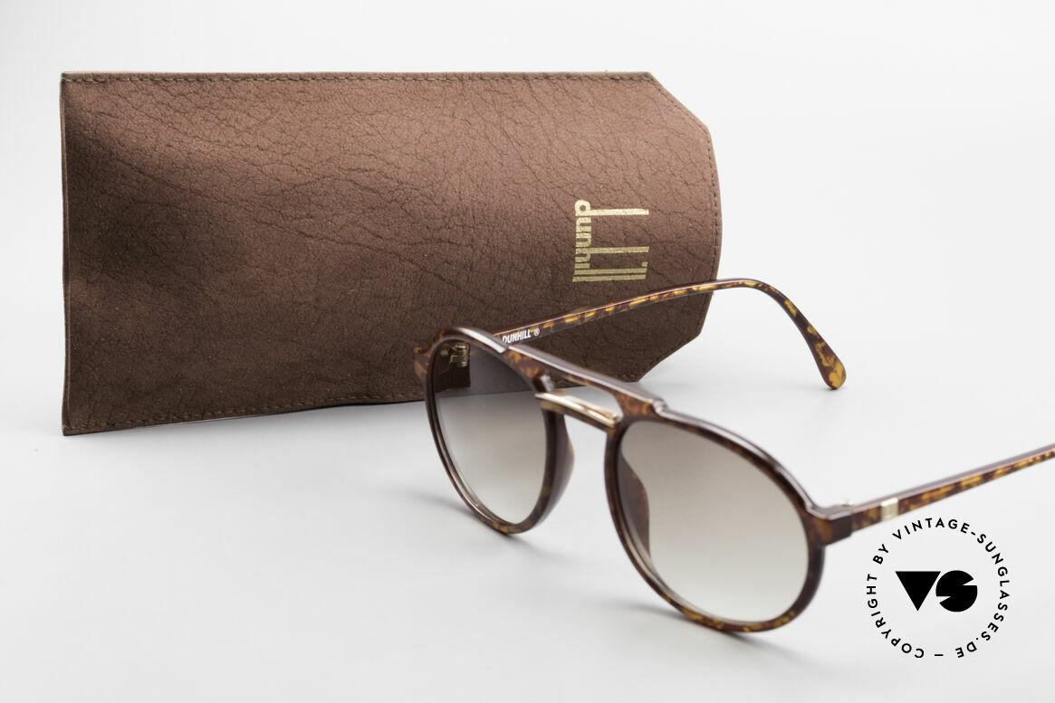 Dunhill 6114 Ovale Vintage Sonnenbrille, Größe: medium, Passend für Herren