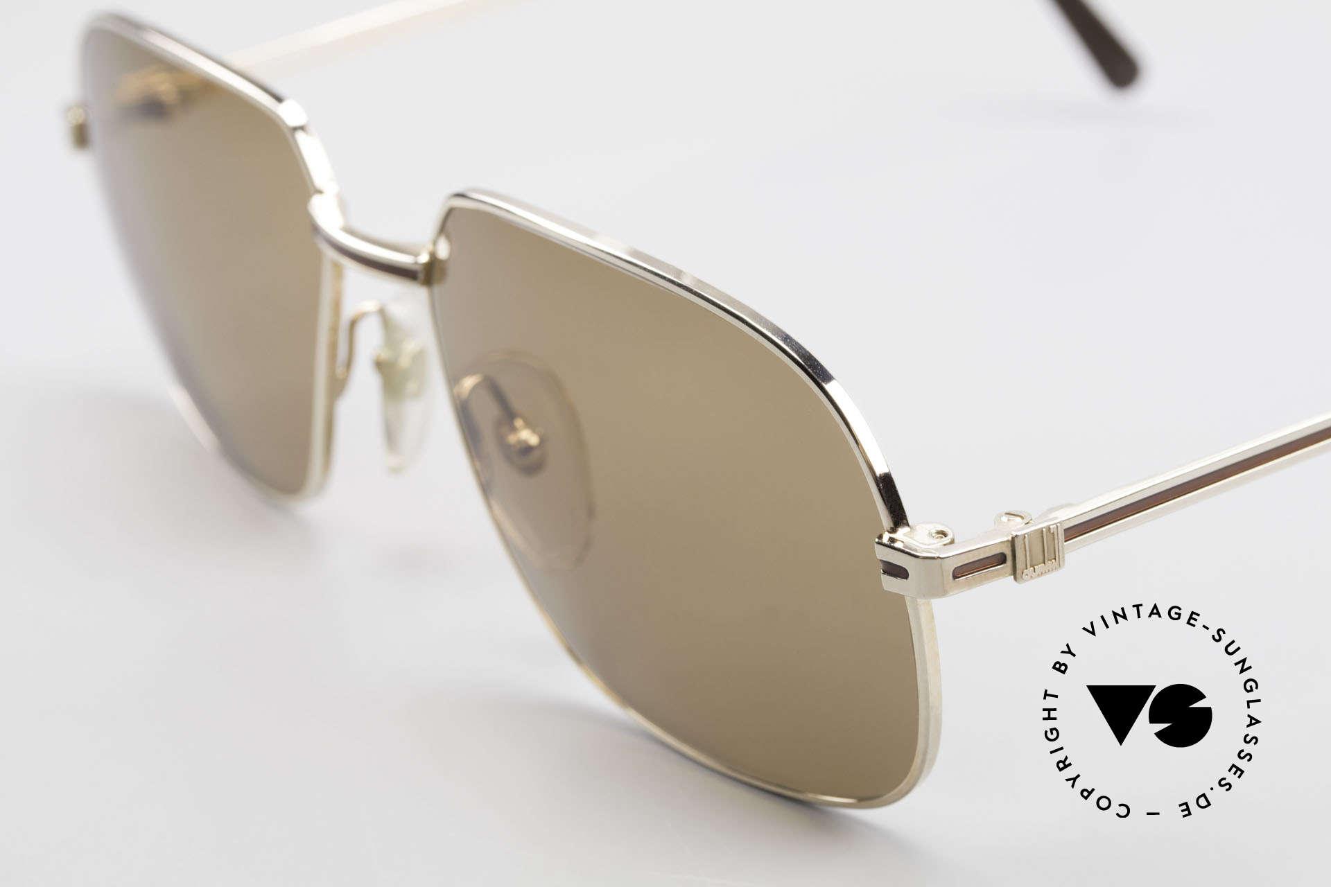 Dunhill 6123 Vergoldete Gentleman Brille, ungetragenes Einzelstück in unfassbarer Top-Qualität, Passend für Herren