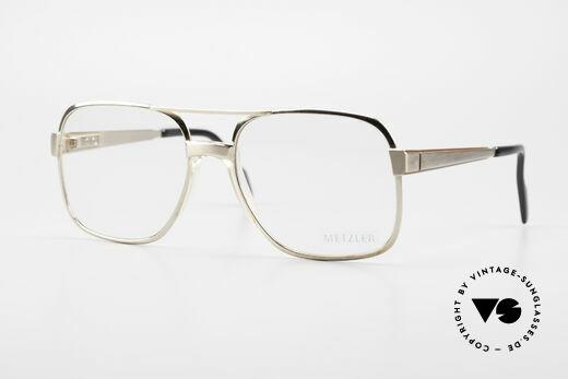 Metzler 0768 Helmut Kohl Vintage Brille Details