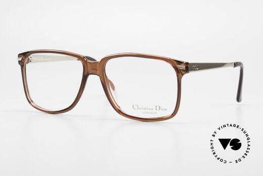 Christian Dior 2460 80er Brille Der Monsieur Serie Details