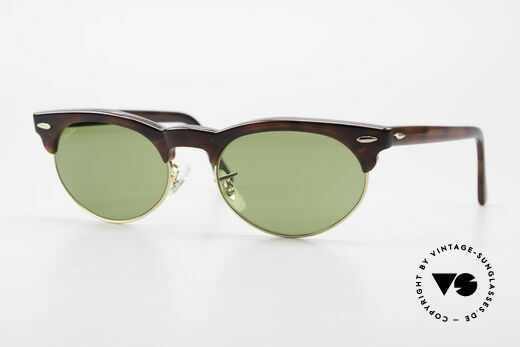 Ray Ban Oval Max Bausch & Lomb Original 80er Details