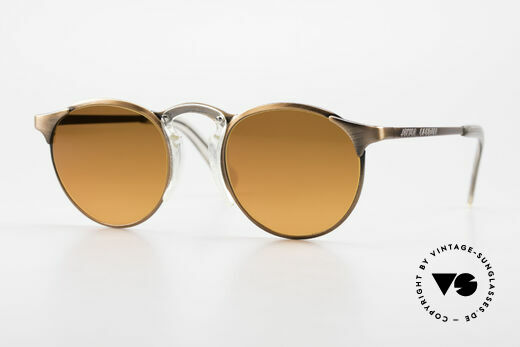 Jean Paul Gaultier 57-0174 90er JPG Panto Sonnenbrille Details