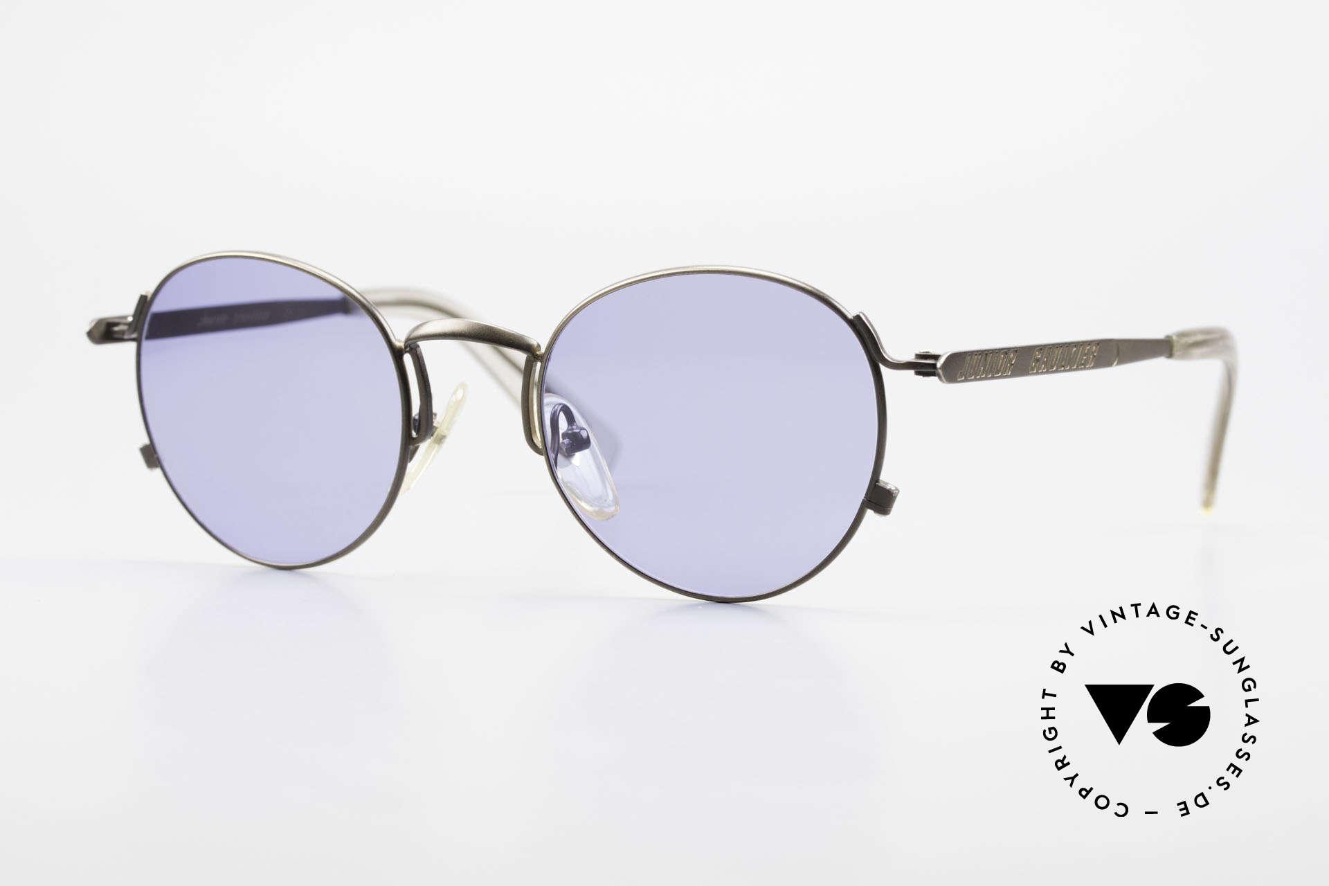 Jean Paul Gaultier 57-1171 90er Designer Sonnenbrille, enorm hochwertige J.P. Gaultier Designersonnenbrille, Passend für Herren und Damen