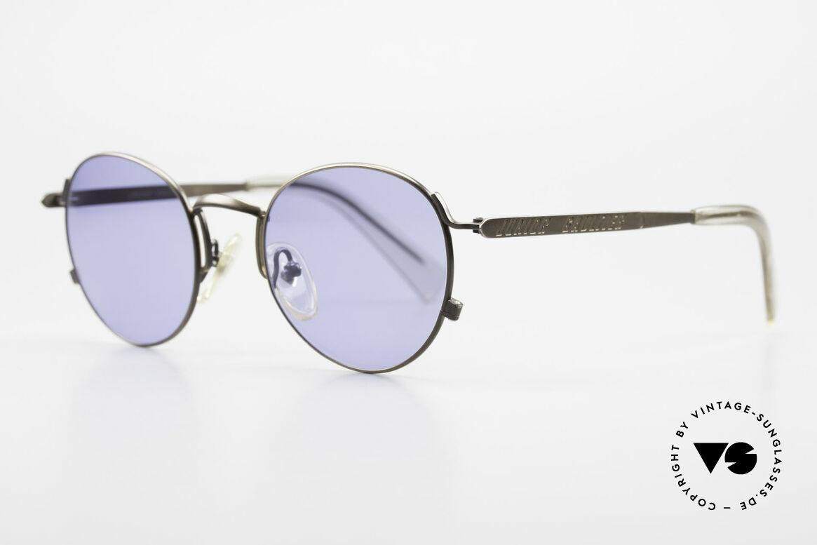 Jean Paul Gaultier 57-1171 90er Designer Sonnenbrille, fühlbare Top-Qualität der JUNIOR GAULTIER Collection, Passend für Herren und Damen