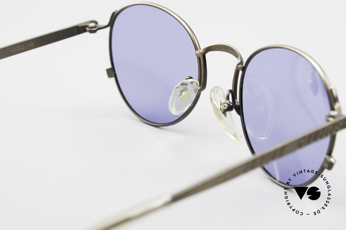 Jean Paul Gaultier 57-1171 90er Designer Sonnenbrille, Größe: medium, Passend für Herren und Damen