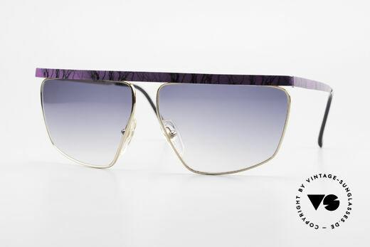Casanova CN7 Vergoldete Luxus Sonnenbrille Details