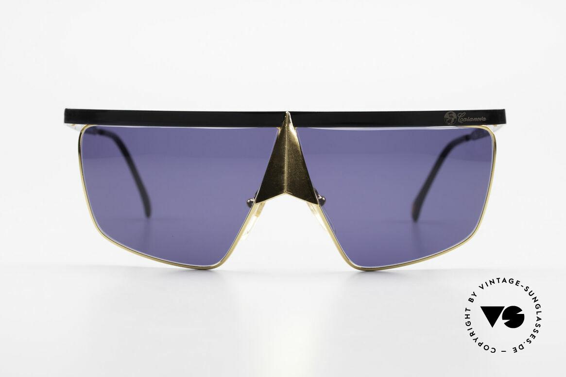 Casanova FC10 24kt Nasenbrille Sonnenbrille, venezianisches Design in Anlehnung an das 18. Jh., Passend für Herren und Damen