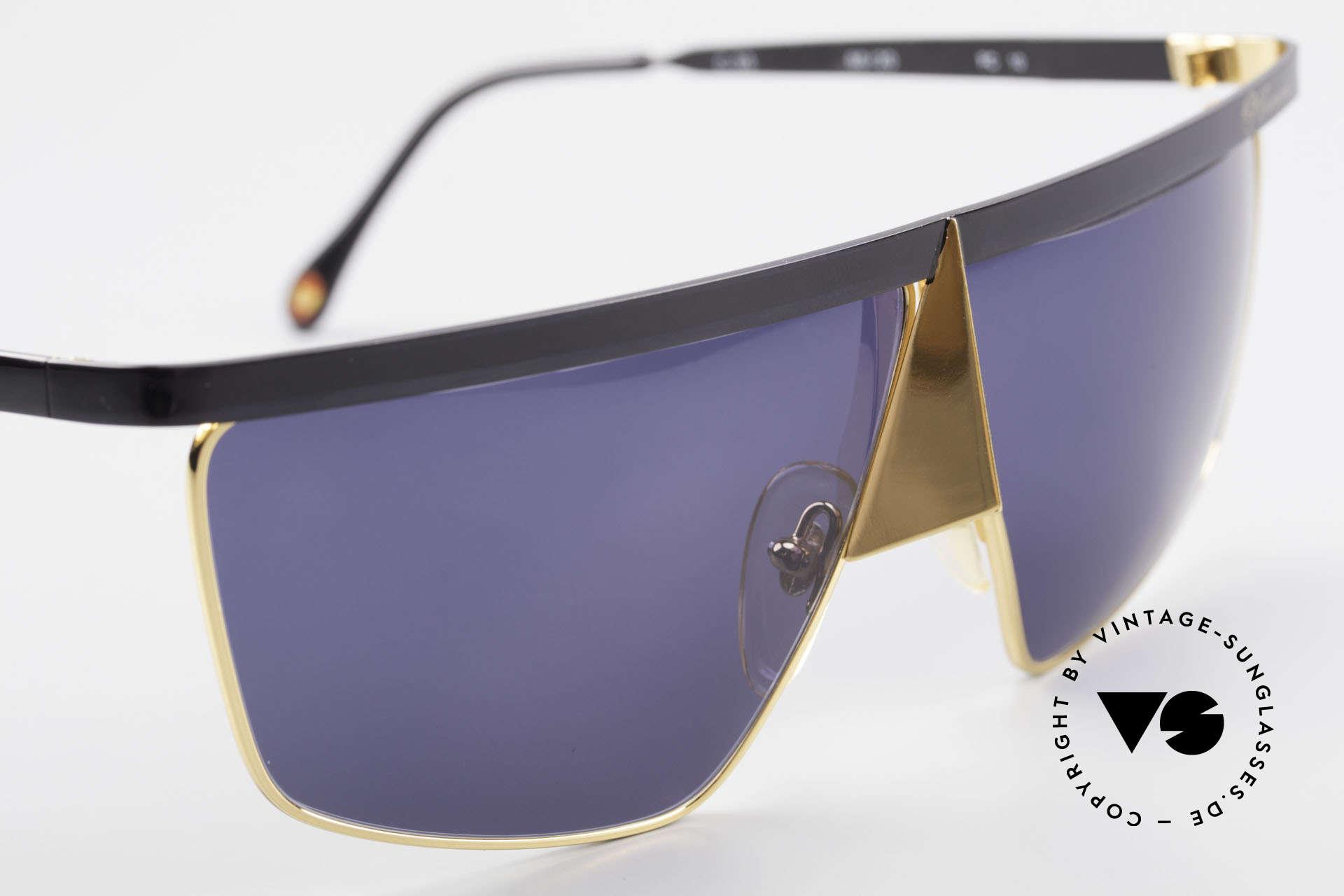 Casanova FC10 24kt Nasenbrille Sonnenbrille, inzwischen ein kostbares Sammlerobjekt; vergoldet!, Passend für Herren und Damen