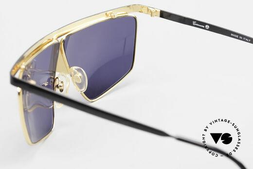 Casanova FC10 24kt Nasenbrille Sonnenbrille, kunstvolle vintage Rarität in ungetragenem Zustand, Passend für Herren und Damen