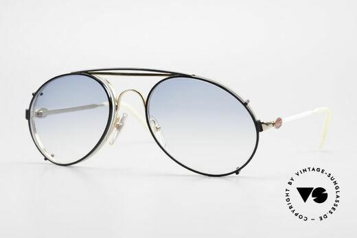 Bugatti 65987 Vintage Brille Mit Sonnenclip Details