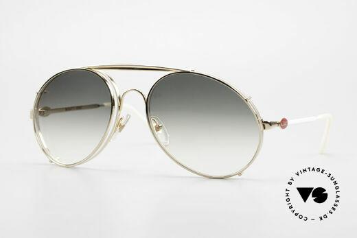 Bugatti 65987 XL Vintage Brille Mit Clip On Details