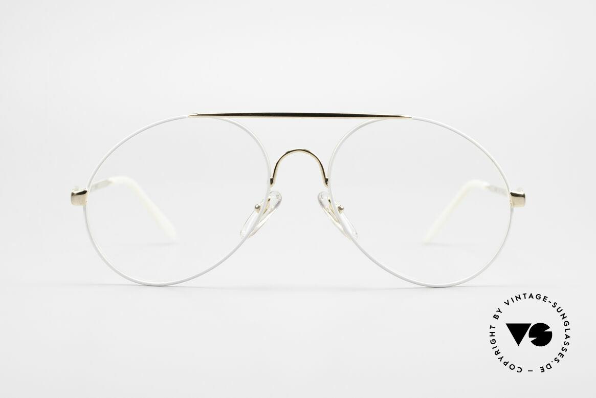 Bugatti 65987 XL Vintage Brille Mit Clip On, KEINE Retrosonnenbrille; ein Original von 1986, Passend für Herren