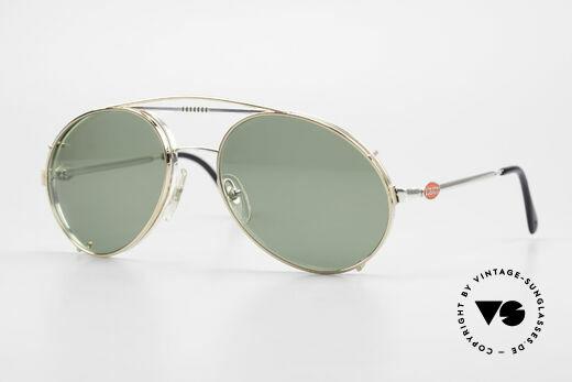 Bugatti 65996 Vintage 80er Brille Mit Clip On Details