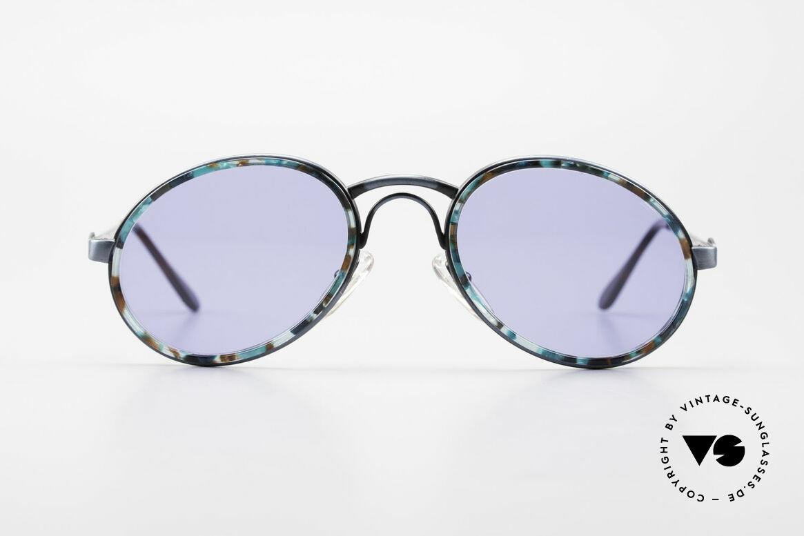 Bugatti 03328T Alte 80er Bugatti Herrenbrille, altes 80er Original mit interessantem Rahmenmuster, Passend für Herren