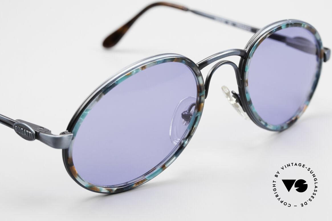 Bugatti 03328T Alte 80er Bugatti Herrenbrille, ungetragen; wie all unsere 80er Bugatti-Sonnenbrillen, Passend für Herren