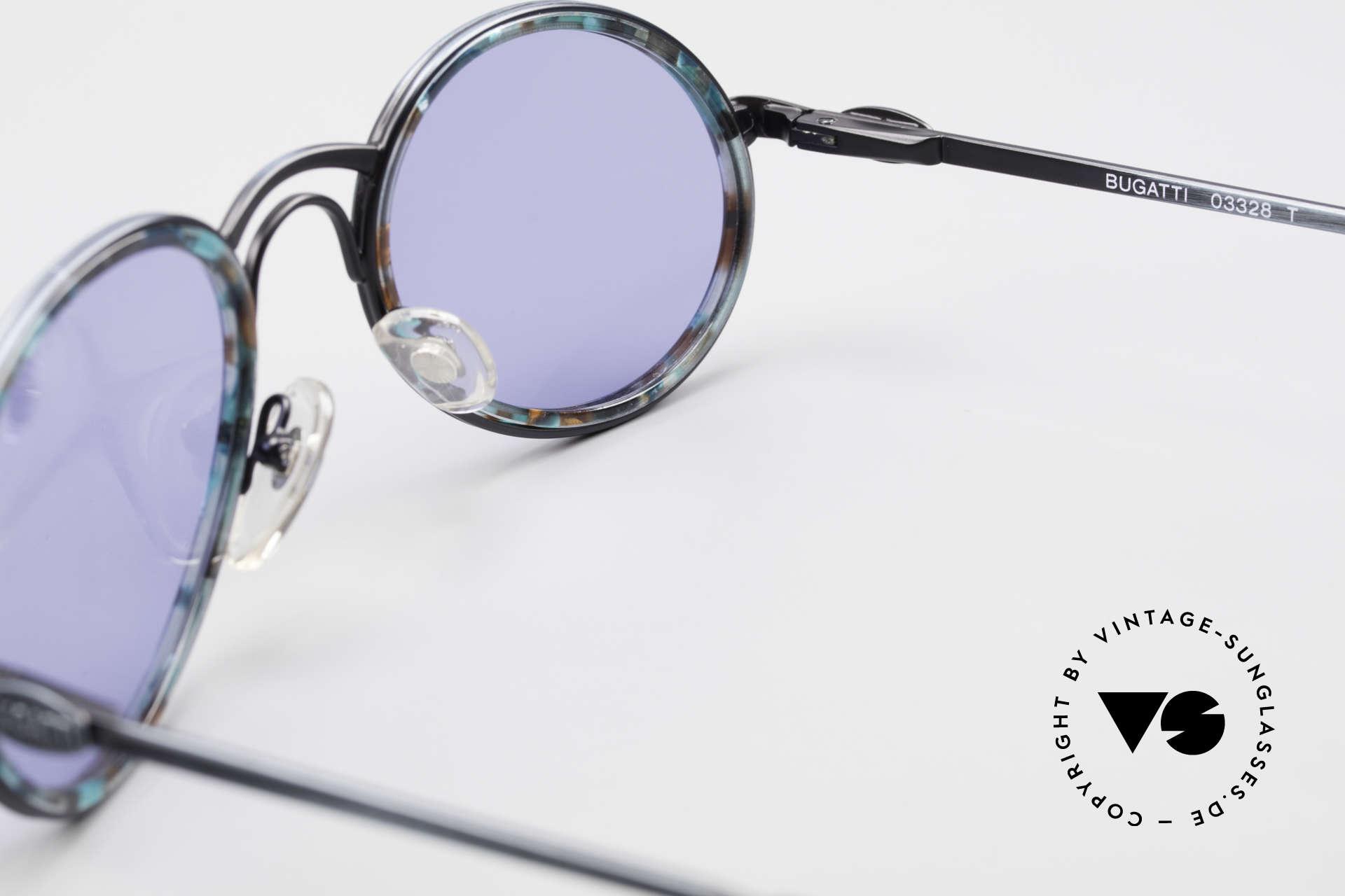 Bugatti 03328T Alte 80er Bugatti Herrenbrille, KEINE Retrobrillenfassung; ein 35 Jahre altes Original, Passend für Herren