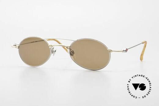 Bugatti 10868 90er Luxus Sonnenbrille Oval Details