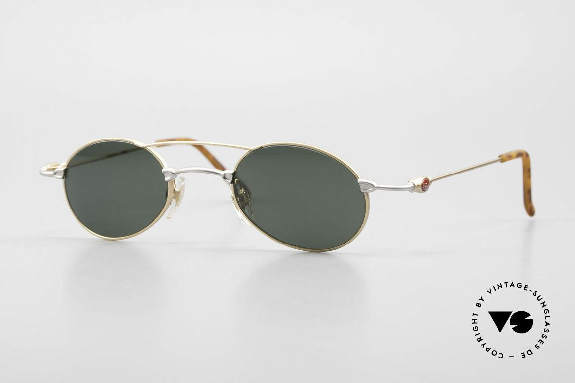 Bugatti 10868 90er Luxus Sonnenbrille Men, sehr feine und leichte Designer-Fassung von BUGATTI, Passend für Herren