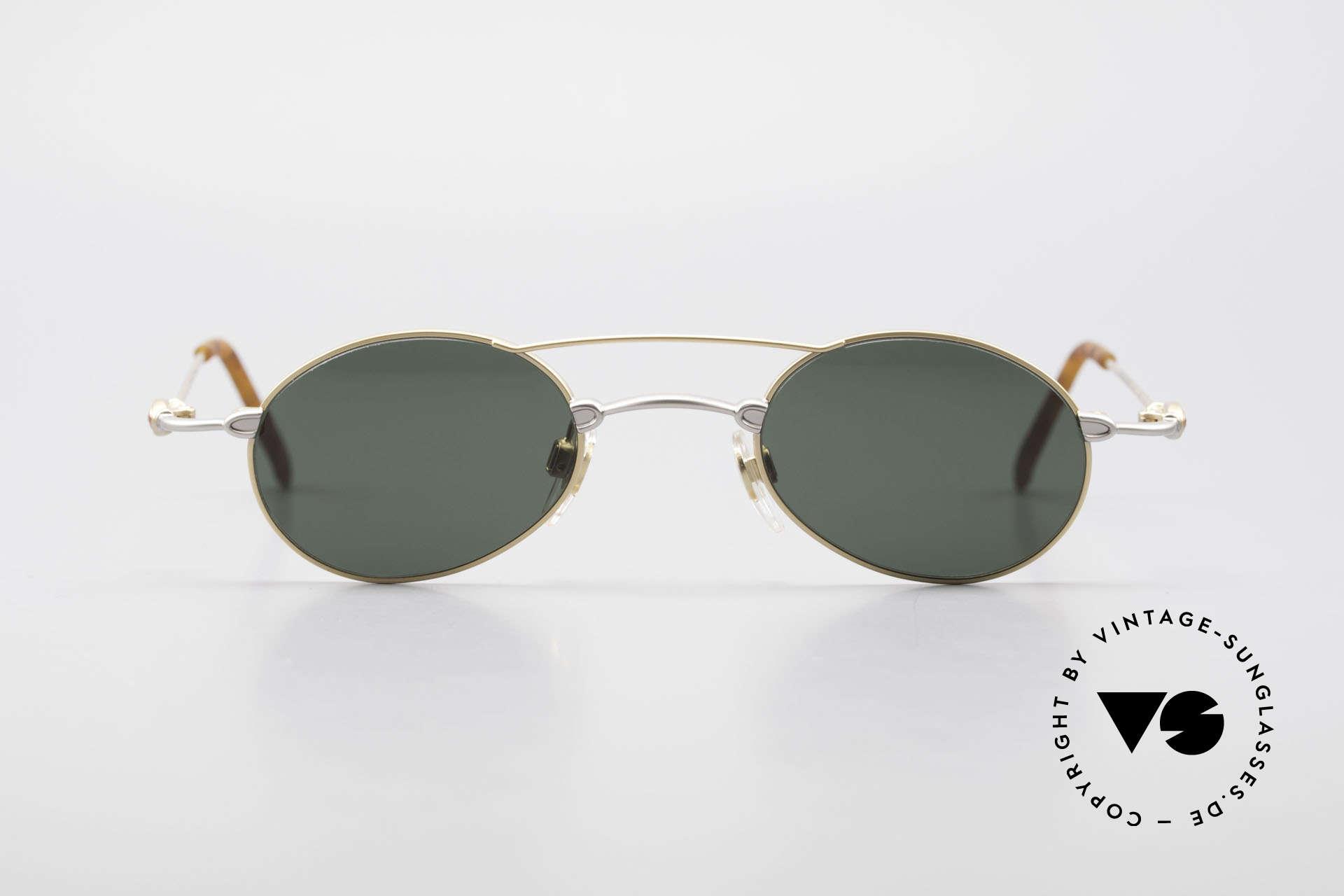 Bugatti 10868 90er Luxus Sonnenbrille Men, Material und Verarbeitung auf Top-Niveau in Gr. 44°23, Passend für Herren