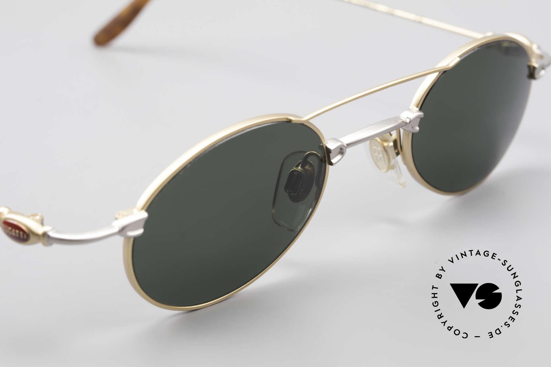 Bugatti 10868 90er Luxus Sonnenbrille Men, KEINE Retrobrille; ein ORIGINAL aus den späten 90ern!, Passend für Herren