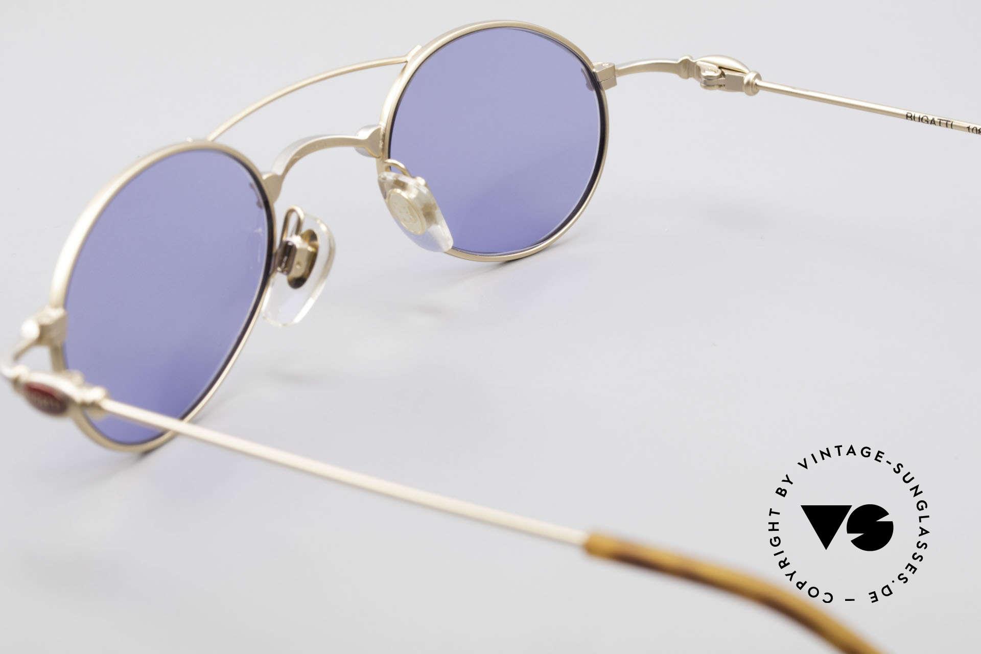 Bugatti 10868 Luxus Herren Sonnenbrille, Sonnengläser können ggf. durch optische ersetzt werden, Passend für Herren