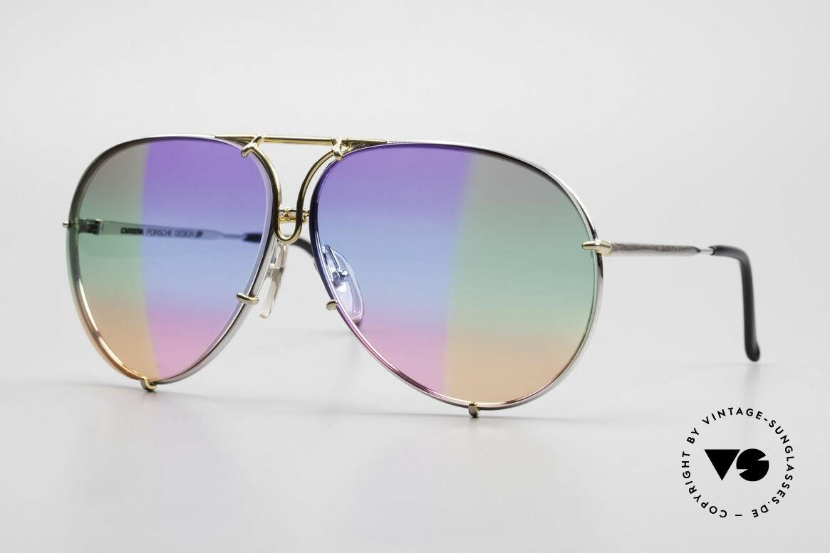 Porsche 5623 Unikat Brille 6Fach Verlauf, PORSCHE Design by CARRERA Sonnenbrille von 1987, Passend für Herren und Damen