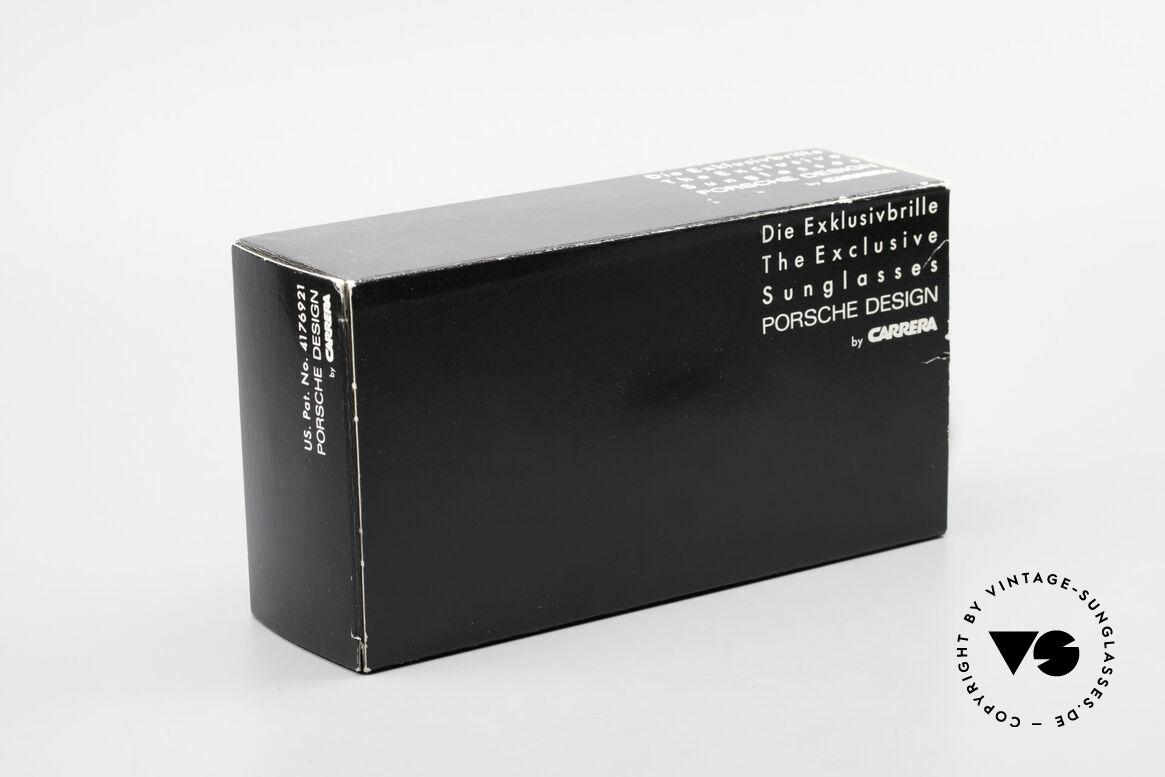 Porsche 5623 Unikat Brille 6Fach Verlauf, KEINE Retro Sonnenbrille; sondern ein 80er Original!, Passend für Herren und Damen