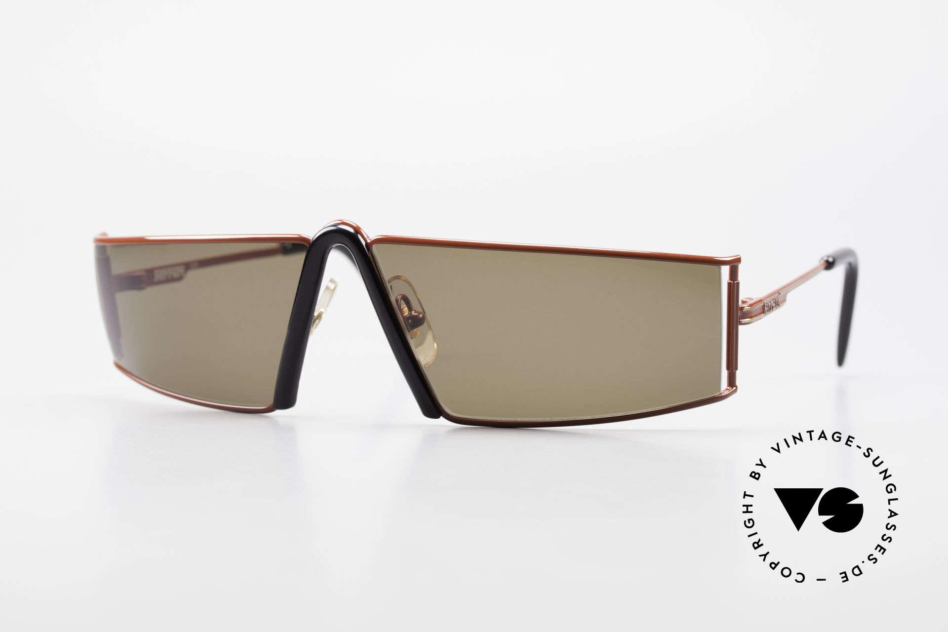 Ferrari F19/S Sonnenbrille Wie XL Lesebrille, außergewöhnliche vintage Ferrari Sonnenbrille, Passend für Herren
